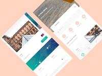 Google Material Flight Booking App