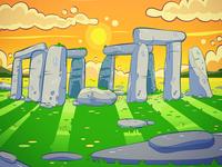 Stonehenge illustration