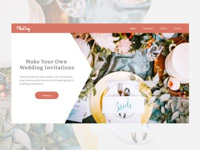 TheDay - Wedding Invite Templates
