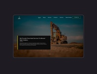 JMPL branding mining website ux ui ghana
