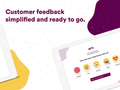 Echo Feedback App illustration ecommerce social business ghana design ux ui