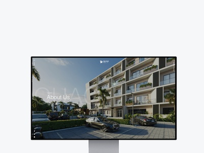 Quao Realty real estate ghana design branding website ui