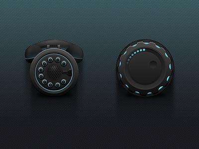 Dark Sky Icons icons settings icon phone icon