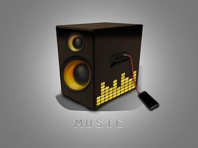 Speaker Icon icon music