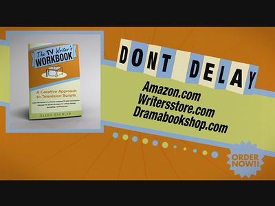 The TV Writer's Workbook flat flat design commercial book 3d cinema4d c4d