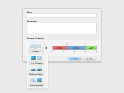 Eloqua Interface Design - 2 interface ui ux uiux layout simple clean