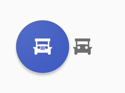 Jeepney Icon 2 figma transportation process pinoy philippine material design local jeepney jeep iteration commute