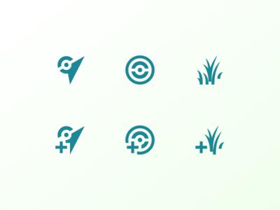 Pokémon Go icons