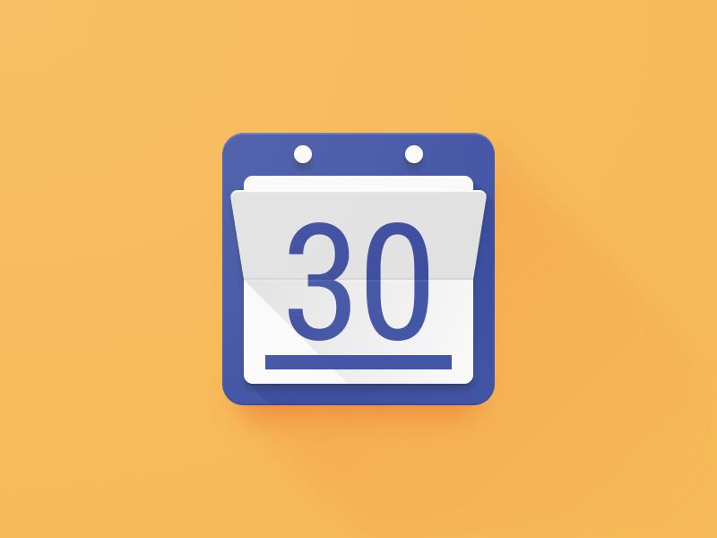 Today calendar icon redesign