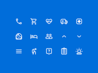 WIP: Icons for Maria Health