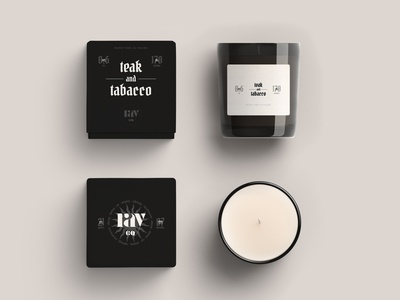 Ray Co. Candle Packaging