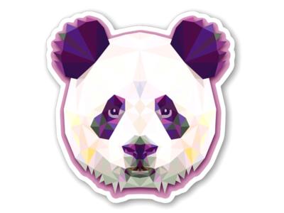 Stickers mania IV artist art dribble designinspiration graphic designer ux ui animal animals illustration panda pandas