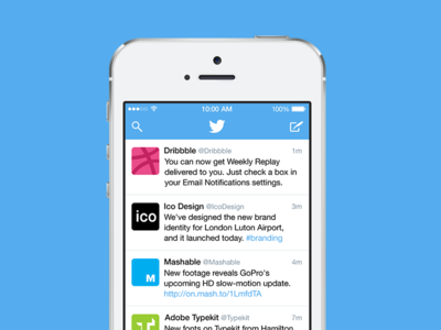 Twitter Redesign Preview