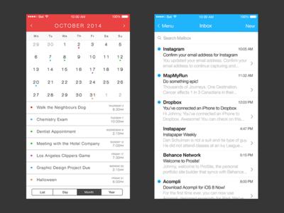iOS 8 Redesign