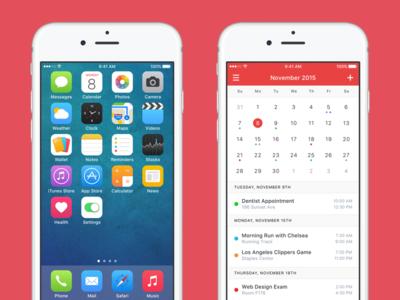 iOS 9 Redesign