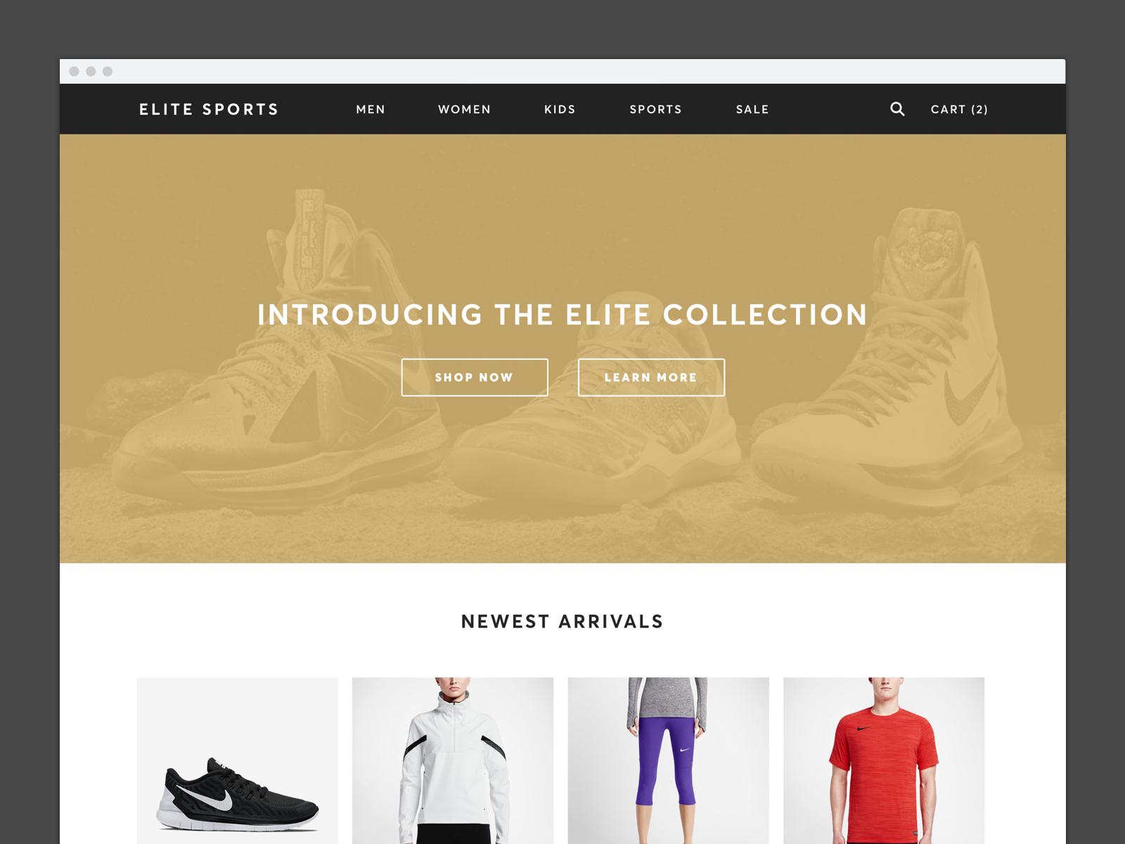 Elite sports apparel 2x