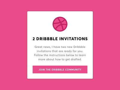 Dribbble Invite Giveaway (Closed) contest mobile web design portfolio invitations giveaway invite dribbble