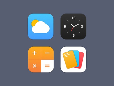 App Icon - Daily UI Challenge #005 icon daily ui ux design web mobile app challenge icons ios iphone