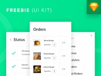 Freebie: iOS UI Kit mobile app design mobile design mobile app mobile ui mobile ios ui clean app