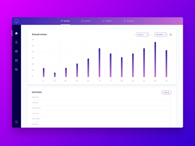 Web App UI Kit 4
