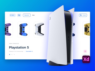 💎 Freebie: E-Commerce Landing page design web website ui app clean xddailychallenge xd animation xd ui kit xd design xd freebie xd freebies freebie free