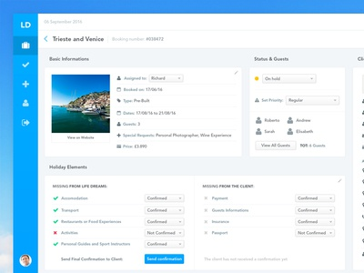 Travel Management Software finance numbers subs subscriptions visualisation data dash board ux ui dashboard