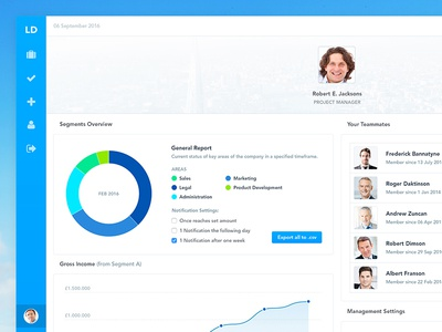 UI Personal Profile finance numbers subs subscriptions visualisation data dash board ux ui dashboard