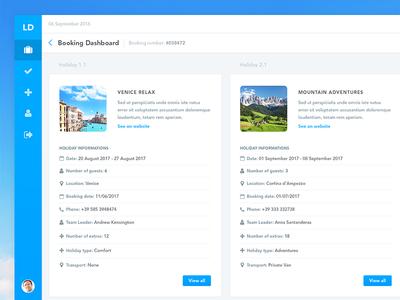 Holidays List UI finance numbers subs subscriptions visualisation data dash board ux ui dashboard