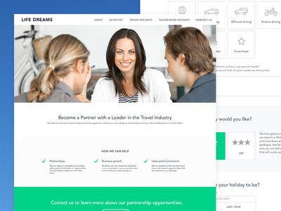 Partnership Web Page