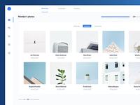 Image Gallery UI Design