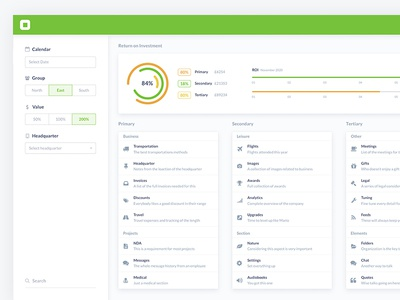 Social Analytics UI Kit