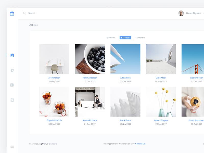 Image Cards UI