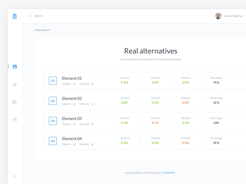 B2C Dashboards web ux ui bitcoin flat dashboard design clean branding app material 2d