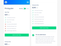Pricing - Mobile Saas Admin UI Kit