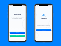 Social iOS App for iPhone X, XS and XS Max