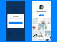 Tech Startup Mobile App UI Design for iPhone