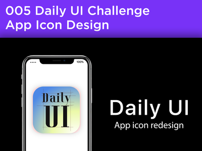 #005 #AppIcon - App Icon Design for Daily UI