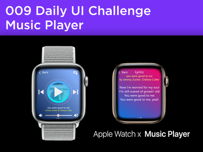 #009 #MusicPlayer - Apple Watch Series 4 Music Player