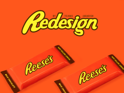 Reese's Wrapper #Redesign package chocolate chocolate packaging package design product design minimal redesign-tuesday concept