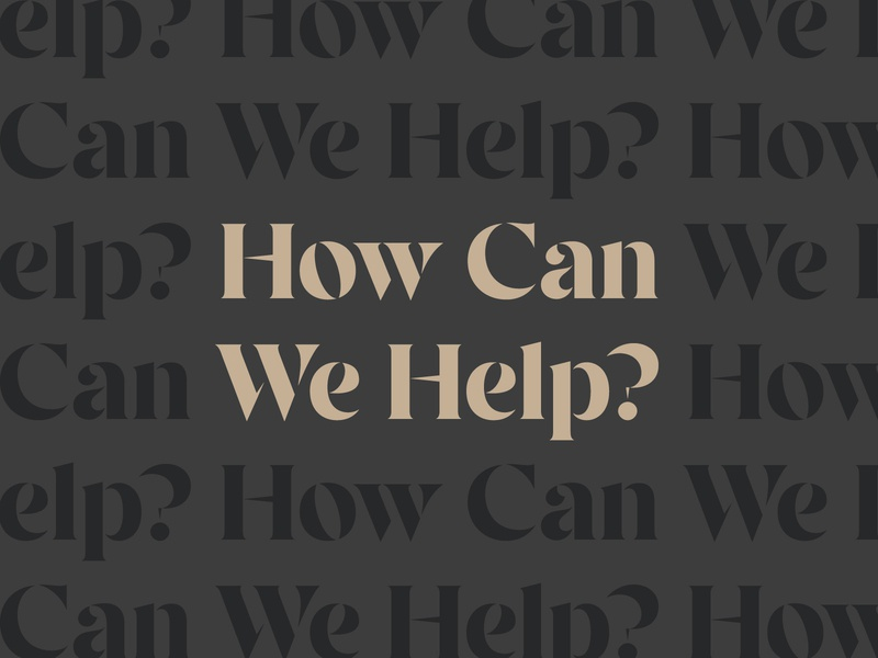 How Can We Help? (COVID-19 Edition)