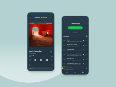 Redesign | Spotify—Neumorphism