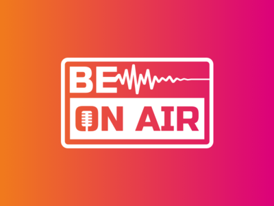 Be On Air Logo