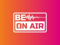 Be On Air Logo