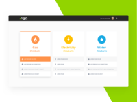 NGIN - Product Selection Page