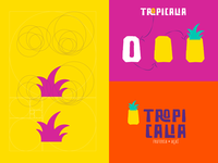 Logo Grid Pineapple Crown- Tropicalia