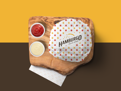 Hamburgo • Grilled Burger - Branding 01