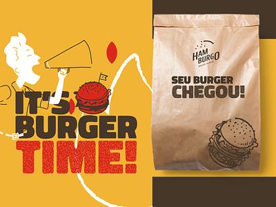 Hamburgo • Grilled Burger - Branding 03 logodesign logotype brand inspirations branding identity design brand identity brand design packaging design packaging burgers burger