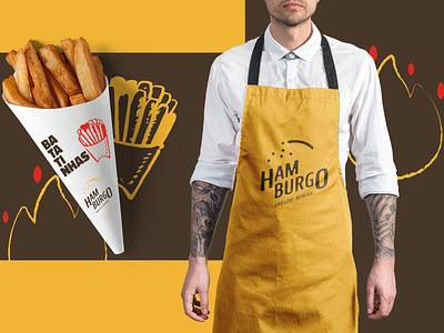 Hamburgo • Grilled Burger - Branding 04 identity design identity logodesign logo inspirations logotype brand identity brand brand design potato chips burgers burger