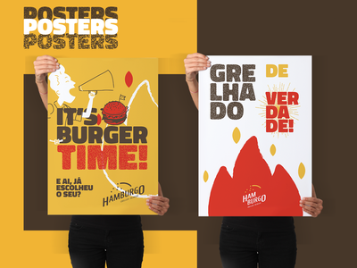 Hamburgo • Grilled Burger - Branding 06 identity design burgers logotype logo design inspirations branding brand identity logodesign brand design brand poster design