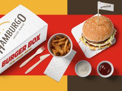 Hamburgo • Grilled Burger - Branding 07